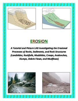 EROSION: Landslides, Mudslides, Rockfalls, etc. (COLORFUL and Logical)