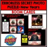 ERRORLESS SECRET PHOTO PUZZLE BOOM CARDS: NEW YEARS