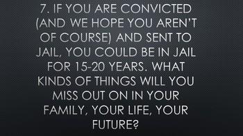 ERWC Juvenile Justice Unit: I have some Bad News