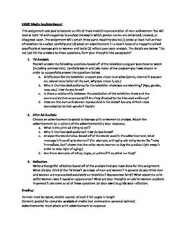 ERWC: Language Gender Culture Media Analysis Report