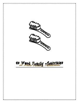 ES WORD FAMILY ACTIVITIES