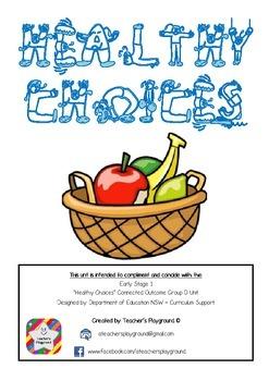 ES1 - 'Healthy Choices' COGs Workbook