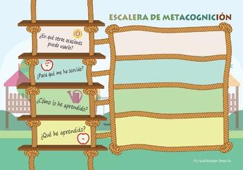ESCALERA METACOGNICIÓN