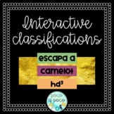 ESCAPA A CAMELoT HD3 interactive classifications
