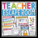 ESCAPE ROOM ACTIVITY FOR TEACHERS AND STAFF