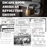 ESCAPE ROOM---AMERICAN REVOLUTION