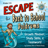 ESCAPE ROOM BACK TO SCHOOL: TEAMWORK, GROWTH MINDSET, STUD