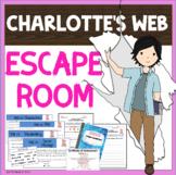 ESCAPE ROOM - Charlotte's Web by E.B. White - Fun Interact
