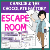 Charlie and the Chocolate Factory ESCAPE ROOM Fun Activity