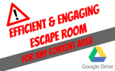 ESCAPE ROOM FOR ALL CONTENT AREAS