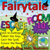 ESCAPE ROOM: Fairytales, Problem Solving, Resources and An