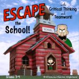 ESCAPE ROOM GRADES 3-4 ELA COMPREHENSION & WRITING ACTIVITY
