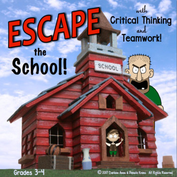 ESCAPE ROOM GRADES 3-4 ELA COMPREHENSION & WRITING ACTIVITY