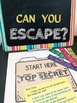 ESCAPE ROOM GRADES 3-4: ESCAPE THE DRAGON!