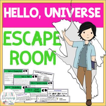 ESCAPE ROOM - Hello, Universe by Erin Entrada Kelly - Interactive Novel Activity