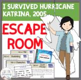 ESCAPE ROOM- I Survived Hurricane Katrina, 2005 - Interactive Novel Activity!