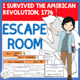 ESCAPE ROOM- I Survived the American Revolution, 1776-Inte