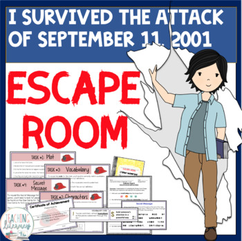 ESCAPE ROOM- I Survived the Attacks of Sept. 11, 2001-Interactive Novel Activity