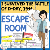 I Survived the Battle of D-Day, 1944 ESCAPE ROOM
