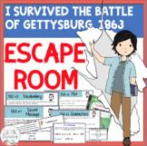 I Survived the Battle of Gettysburg, 1863 ESCAPE ROOM