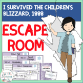 ESCAPE ROOM for I Survived the Children's Blizzard, 1888 by Lauren Tarshis