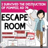 I Survived the Destruction of Pompeii, AD 79 ESCAPE ROOM