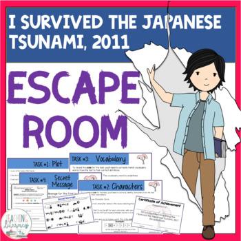 ESCAPE ROOM- I Survived the Japanese Tsunami, 2011 - Interactive Novel Activity!