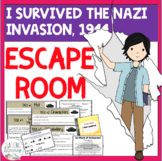 ESCAPE ROOM - I Survived the Nazi Invasion, 1944 - Interactive Novel Activity