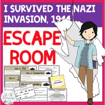 ESCAPE ROOM - I Survived the Nazi Invasion, 1944 - Interactive Novel Activity