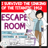 I Survived the Sinking of the Titanic, 1912 ESCAPE ROOM