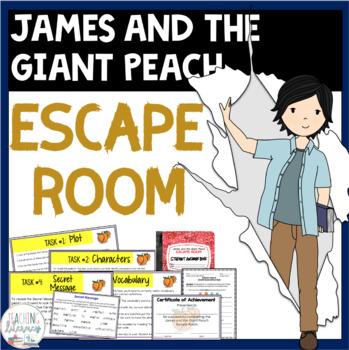 ESCAPE ROOM - James and the Giant Peach - Fun Interactive Novel Activity!