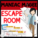ESCAPE ROOM - Maniac Magee by Jerry Spinelli - Fun Interac