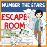 ESCAPE ROOM - Number the Stars by Lois Lowry - Interactive