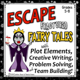 ESCAPE ROOM Plot Elements: Fractured Fairy Tales & Creative Writing