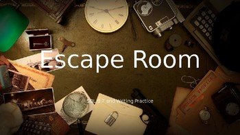 ESCAPE ROOM!! SOL 8.7 and Writing Practice