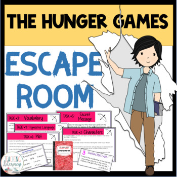 ESCAPE ROOM - The Hunger Games - Fun Interactive Activity!