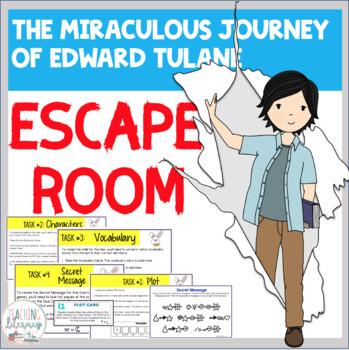 ESCAPE ROOM -The Miraculous Journey of Edward Tulane -Interactive Novel Activity