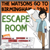 The Watsons Go to Birmingham ESCAPE ROOM