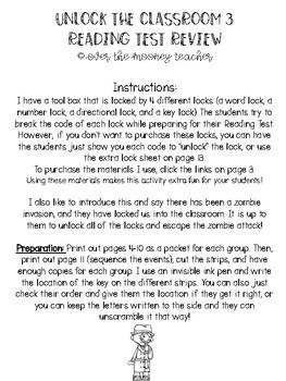 ESCAPE ROOM-Unlock The Classroom Part 3