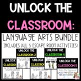 ESCAPE ROOM-Unlock the Classroom BUNDLE-5 ESCAPE ROOM GAMES