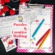 VALENTINE'S DAY ESCAPE ROOM ACTIVITY: WRITING, TRIVIA, PUZZLES & MORE
