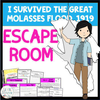 ESCAPE ROOM for I Survived the Great Molasses Flood, 1919 by Lauren Tarshis