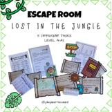 ESCAPE ROOM lost in the jungle