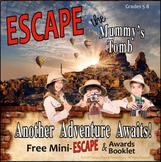 ESCAPE THE MUMMY'S TOMB! MINI ESCAPE ROOM ACTIVITY