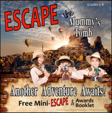 ESCAPE THE MUMMY'S TOMB! MINI ESCAPE ROOM ACTIVITY