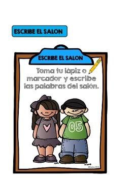 ESCRIBE EL SALON