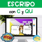 ESCRIBO CON CA, QUE, QUI, CO, CU - Spanish Word Work