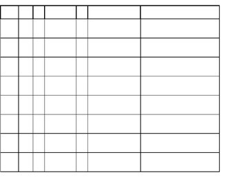 ESE Data Collection Sheet