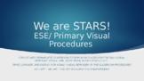 ESE VISUAL Classroom Procedures EDITABLE