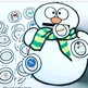 SNOWMAN PENGUIN FEEDING MOUTH SPEECH THERAPY  worksheets LOW PREP NO PREP